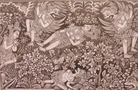 2013春、インドネシア旅行記2(33:補遺):プリ・ルキサン美術館(2/2)