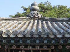 2013春、韓国旅行記26(6):4月9日(4):慶州、仏国寺、大雄殿、観音殿、毘盧殿、毘盧遮那仏、羅漢殿