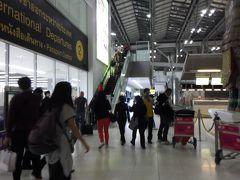 タイ・スワナプーム空港出国 2014年1月5日
