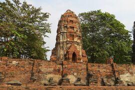 2013冬、タイ王国旅行記2(24)アユタヤ、アユタヤ遺跡、ワット・マハタート、ワット・プラシーサンペット