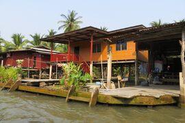 2013冬、タイ王国旅行記2(28)ヌサドゥア、水郷クルーズ、水上マーケットへ