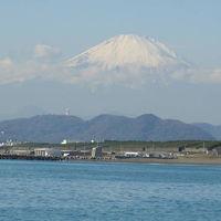 冬の湘南は富士山がキレイ!