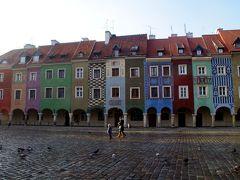 「可愛い!」が見つかる国ポーランドVol.5 ポーランド建国の地ポズナンのカラフル広場は絵本の中