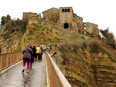 イタリア遊路 チビタバニョーレッジョからローマへ
