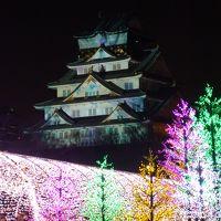 ぶらっと散歩〜大阪城3Dマッピングスーパーイルミネーション〜【2014.1】
