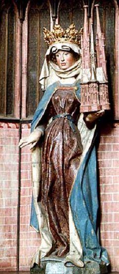 """マールブルク:""""聖エリザベートのバラの奇蹟Das Rosenwunder"""""""