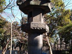 上野のお化け燈籠