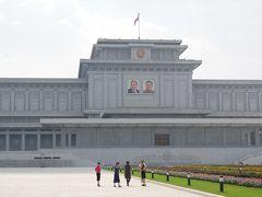 2013年北朝鮮旅行記その6 錦繍山太陽宮殿等
