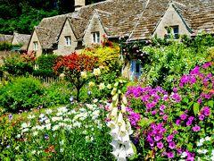 花と緑が輝く季節☆ときめきと癒しの旅ロンドンとコッツウォルズ【バイブリー】☆イギリスで一番美しい村☆と称賛された村