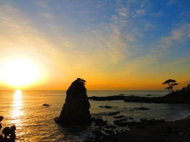 今年の冬休みはどこにも行けず多少の鬱憤が溜まっていた今日この頃、そのストレス解消を兼ねて成人の日が絡んだ三連休の時期に日帰りでどこかに行こうということになりました。<br />帰りが遅くなるのも子供にとっていいことではないので手軽に行ける場所として選んだ場所が三浦半島方面です。三浦といえば三崎、三崎といえばマグロ、ということでマグロ料理を食べつつ、三浦半島散策としゃれ込むことにしましょう。<br /><br />◆今回の旅程<br />・三崎漁港(言わずと知れたマグロの町)<br />・城ヶ島(三浦半島の先端部)<br />・立石(江戸時代から続く富士山鑑賞の名所)