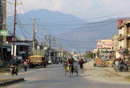 2014新春、ネパール旅行記(18)1月23日(9):ポカラ、3泊したホテル、夕食前に市内散策