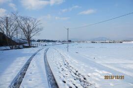 琵琶湖1周の旅 4日目雪のいにしえ街道と白鬚神社 旅ランシリーズ