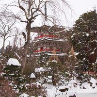 仙台でも、78年ぶりの大雪だって~~\(◎o◎)/! ~北山五山(のうち2つ)~