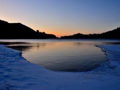 氷と雪の世界、冬の奥日光一泊旅行 (2)湯元温泉で、雪見風呂三昧、湯ノ湖散策
