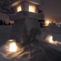 米沢雪灯籠祭り(夜の部)