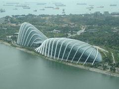 シンガポール ガーデンズ バイ ザ ベイ は涼しい