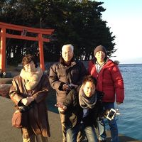 2014恋人岬がお正月の旅