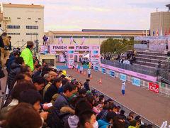 2012 東京マラソン フニッシュ 地点