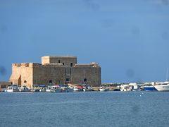 2013.12年末年始キプロス旅行6-元旦のPafosの海岸,パフォス城