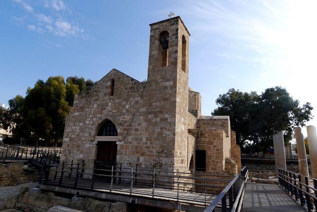 2013.12年末年始キプロス旅行7-聖パウロの柱,聖キリヤキ教会,聖ソロモニのカタコンベ,Polisへ