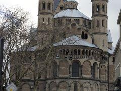 ドイツ冬の旅 ベルリン、ケルンでクリスマス休暇13~雨のケルンロマネスク教会めぐり
