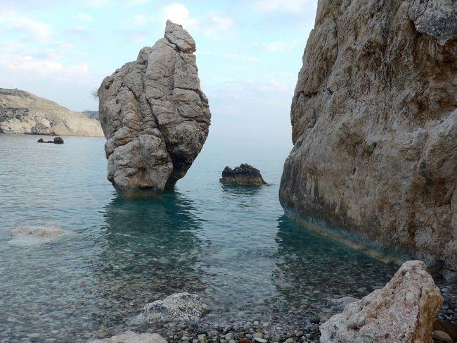 2013.12年末年始キプロス旅行9-Petra tou Romiou海岸(アフロディテの生誕地)