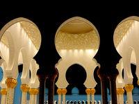 休肝日となるか?ドバイ・アブダビ ④シェイク・ザィード・グランド・ モスクの朝と夜