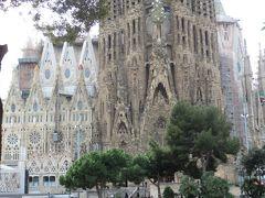 2014早春、南フランス等・4ヵ国巡り(5):2月26日(4):バルセロナ、サグラダファミリア、生誕のファサード、東の公園、桜とツワブキの花