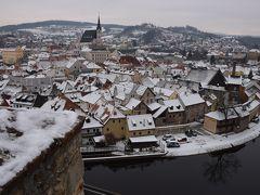 2014.02・憧れの大地へと向かう13日間の旅【2】~雪に覆われた素敵な町チェスキー・クルムロフ~