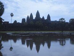 カンボジアのアンコールワット参り、お盆休み3日間の強行軍