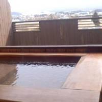 雪が降っていて阿蘇山が綺麗でした