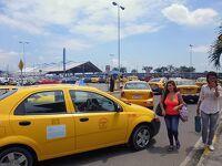 グアヤキルで流しのタクシー乗車