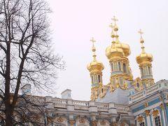 暖冬。冬の北方三都物語2014④エカテリーナ宮殿とバレエとマトリョーシカ。