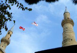 2013.12年末年始キプロス旅行15-1時間半のトルコ旅行 ビュユックハン セリミエジャーミー