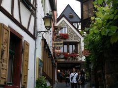 のんびり行こう~♪ドイツ・オーストリア12日間親子旅。vol.2 リューデスハイム・つぐみ横丁^^v