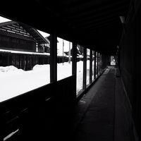 『あけぼの』に乗って~こみせ残る黒石散策と車窓の旅~