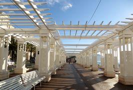 2014早春、南フランス等・4ヵ国巡り(40):3月2日(1):フランス:ニース、泊まったホテル、イギリス人の歩道、コート・ダジュール