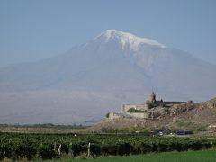 アルメニア旅行②(ホルヴィラップ修道院、エチミアジン大聖堂)