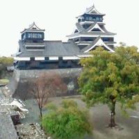 熊本市内での食事と熊本城