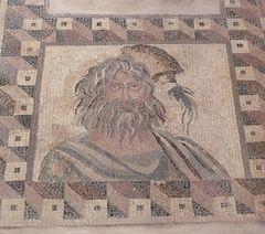 2013.12年末年始キプロス旅行19-パフォス考古学公園2(パフォスのモザイク2)