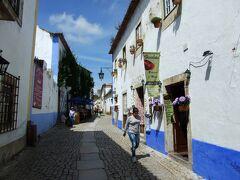ポルトガル 城壁に囲まれた中世の村 オビドス