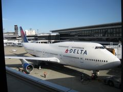 デルタ航空ビジネスエリート・B747-400で楽しむHAPPY・FLIGHT!(後編)