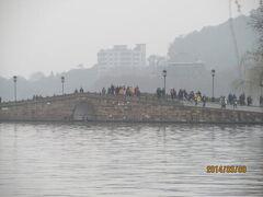 杭州の西湖十景・断橋残雪(白堤)