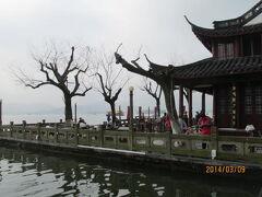 杭州の西湖十景・平湖秋月