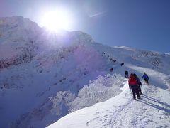 白銀の八ヶ岳登山 稀に見る快晴で景色が半端じゃなかった。