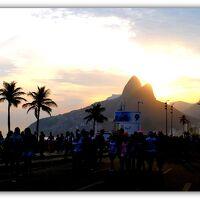 「うたげ(リオのカーニバル)」..の跡(リオデジャネイロ・ブラジル)