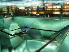 2013 ヨーロッパ周遊1ヶ月の旅 (4)カイシャフォルム・マドリード 垂直庭園のビルは中も素敵だった♪