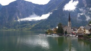 のんびり行こう♪ドイツ・オーストリア12日間親子旅。vol.11 これって奇跡じゃない!ハルシュタット観光*\(^o^)/*