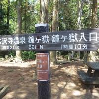 鐘ヶ嶽登山 (富士山初登頂をめざしてトレーニング VOL.1)