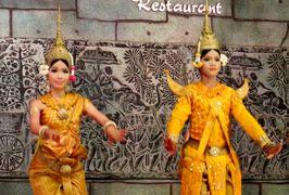 2014春、カンボジア旅行記2(29):3月21日(12):アプサラ・ダンスのディナー・ショー、ココナッツ・ダンス、フィッシング・ダンス、アプサラ・ダンス